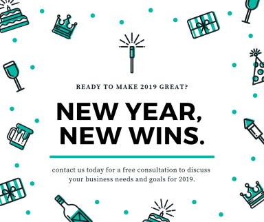 2019 marketing strategy consultation, marketing for small business, goals for 2019 small business